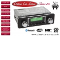 CCS 200 DIN-D classic car radio with DAB / DAB+