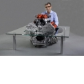 Coffee table FERRARI engine