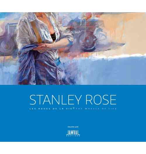 """STANLEY ROSE """"The Wheels of Life""""  Passion Edition - Stanley Rose unique style make him one of the """"monstres sacrés' in the world of motor car art.  115 paintings - 204 pages - format 26x29 cm 14 words including Ralph Lauren, Gordon Murray, Tom Kristensen, Thierry Boutsen,... Stanley Rose is a painter who loves beautiful cars and has always been fascinated by the adventure of the automobile. For 25 years now, thanks to his ability to tell stories on canvas in colour, his work has seduced car lovers and collectors as well as art enthusiasts.  Ralph Lauren has recognised his virtuosity, and among many other enriching tributes, the American gives you his passionate vision of the intimate relationship between art and the motor car.  You too will succumb to the charm of the ambiences generated by the originality of Rose's paintings and the diversity of his subjects that translate the perpetual movement of life symbolised by the wheel.  This book will captivate your senses. You will want to share it with your friends, family etc. and revive your pleasure by rediscovering it from time to time."""