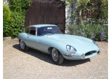 Jaguar Type E - <p>Complete restoration of this highly optimized 3.8L Jaguar E-Type (big brakes, fast road engine, 5 speed gearbox, competition oil radiator, bespoke aluminium radiators and hand-made stainless steel exhaust manifold and line).</p>