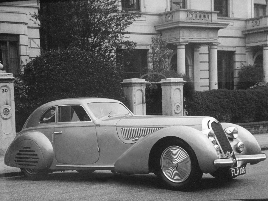 1939 Alfa Romeo 8C 2900B Touring Berlinetta - © Geoffrey Goddard Collection