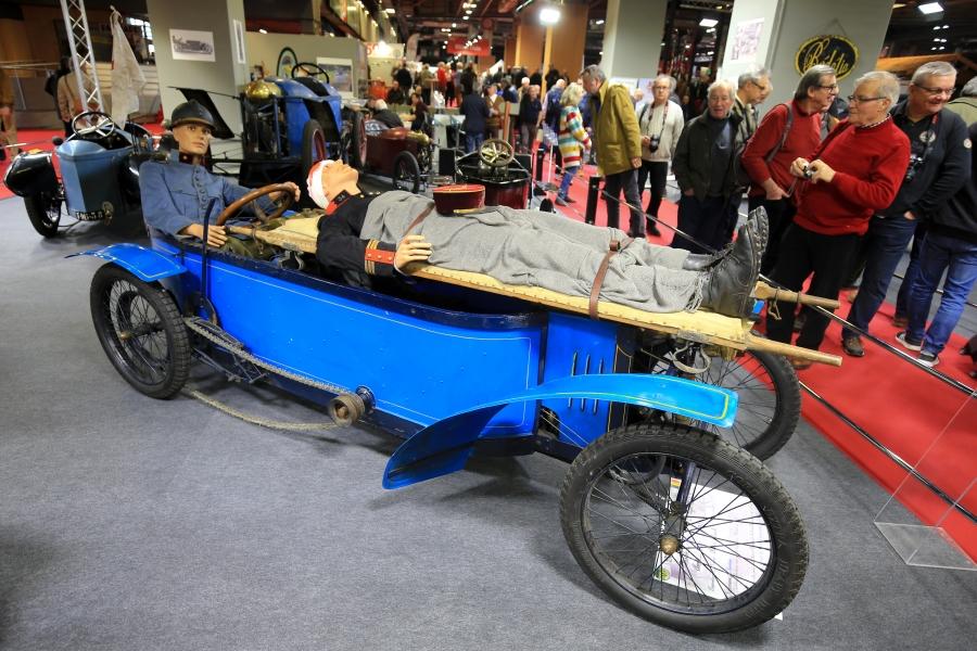 Stand Bédélia, salon Rétromobile 2019
