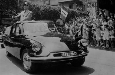 Charles De Gaulle en Citroën