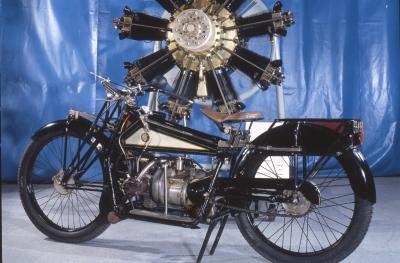 ABC Gnome Rhône, 400 1922 9Z de 60cv rotatif à 9 cylindres, c'est le dernier opérationnel de ce genre construit en 1920 en étoile 9 cyl, 1926