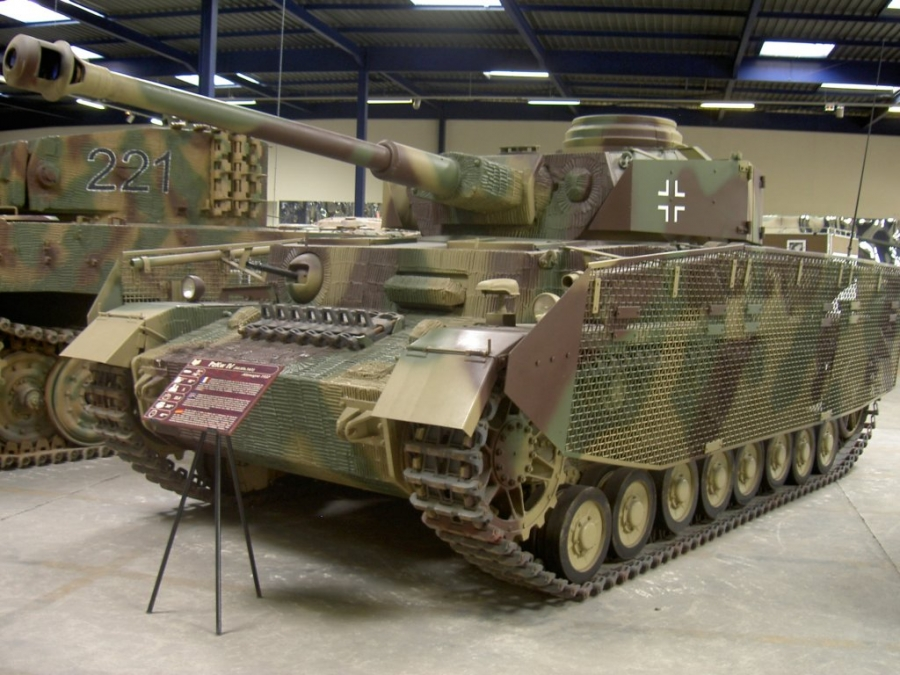 Panzer IV, Musée des Blindés de Saumur