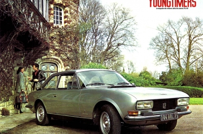 1974, Peugeot 504C