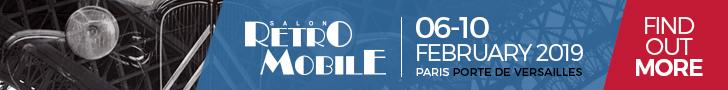 Retromobile 2019 banner
