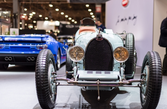 Stand Bugatti © Pierre Perusseau