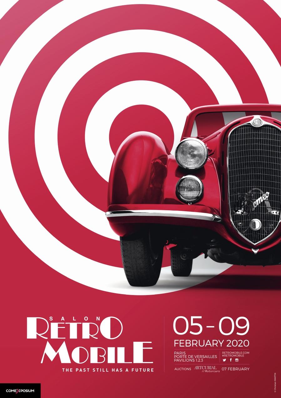 Retromobile Poster 2020