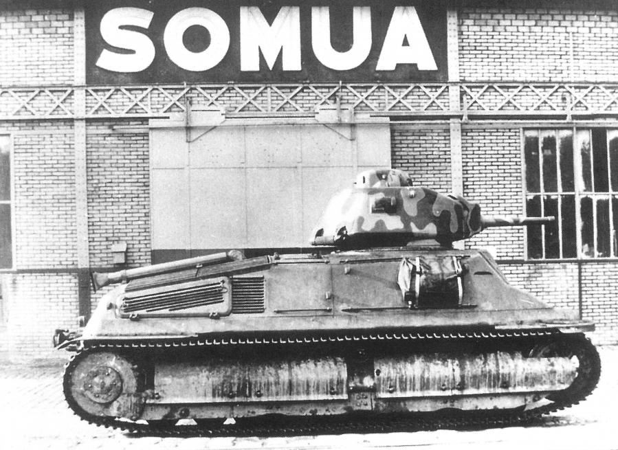 Char SOMUA 1938 Rétromobile