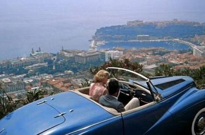 Sunbeam Alpine MK1 bleu saphir