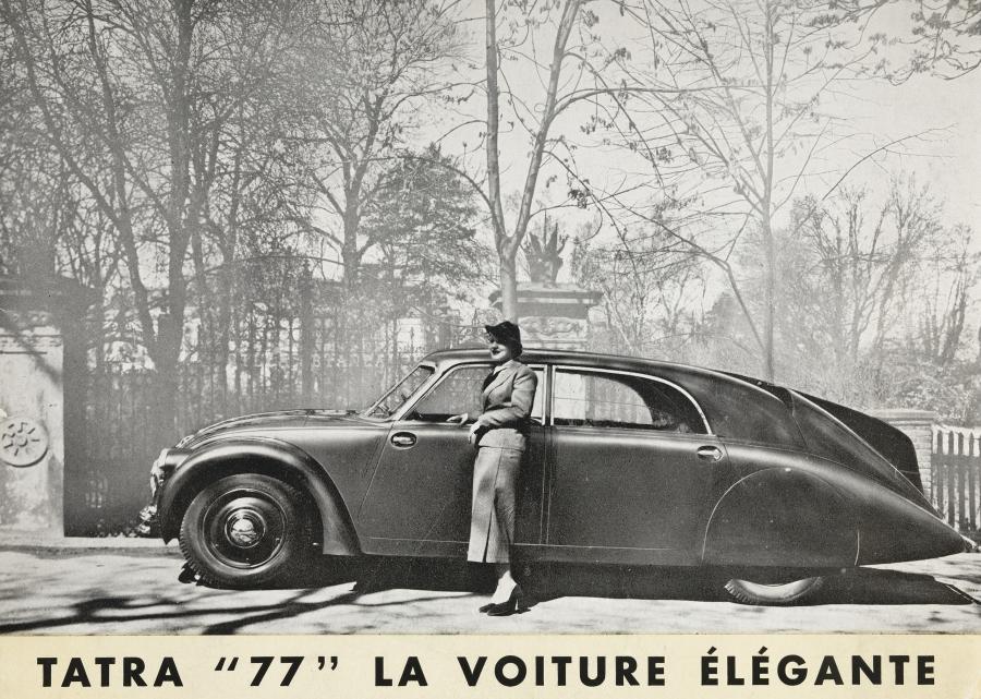 Animation Tatra pour Rétromobile 2020