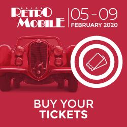 Retromobile show - Banner 2020