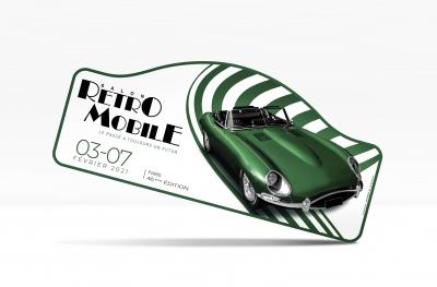 Rétromobile - Plaque de Rallye 2021