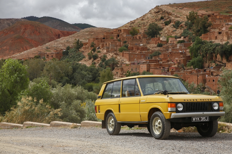 voiture de collection, voiture ancienne - land rover