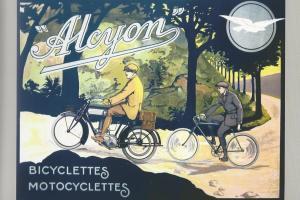 salon de la voiture de collection et des véhicules anciens moto alcyon